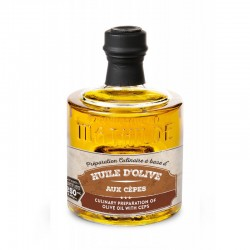 Huile d'Olive aux Cèpes 250 ml  - Comptoir de Mathilde