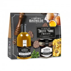 Scrambled Eggs Box Smaak Zwarte Truffel en Zomertruffel  - Comptoir de Mathilde