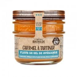 Caramel à Tartiner Fleur de Sel de Guérande 270 g - Comptoir de Mathilde