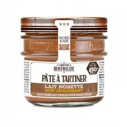 Pâte à Tartiner Chocolat Lait Noisette avec Édulcorant 250 g