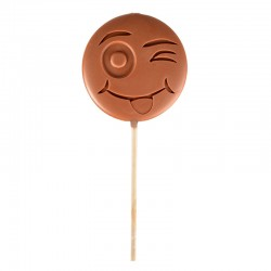 "Emoti'Choc Sucette Chocolat au Lait Smiley ""LOL"" 40 g  - Comptoir de Mathilde"
