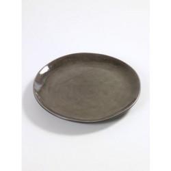 Pascale Naessens Pure Assiette Ronde 20,5 cm Gris  - Serax