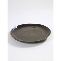 Pascale Naessens Pure Assiette Ronde 34 cm Gris  - Serax