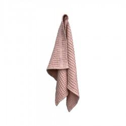 Handdoek van Biologisch Katoen Licht Roze - The Organic Company
