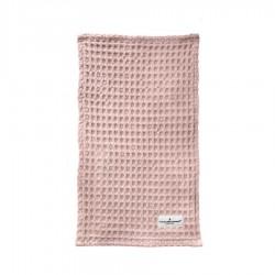 Lavette/ Chiffon en Coton Bio Rose Poudré  - The Organic Company