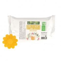 Pâte à Sucre Bio Jaune 250 g  - Cerf Dellier