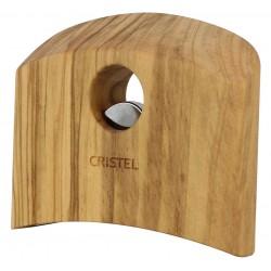 Casteline Verwijderbare Handvat Olijfhout - Cristel