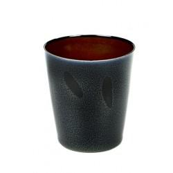 Anita Le Grelle Terres de Rêves Goblet Conic M 9 cm Rust/Dark Blue - Serax