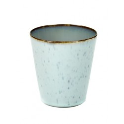 Anita Le Grelle Terres de Rêves Goblet Conic M 9 cm Smokey Blue/Light Blue - Serax