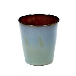 Anita Le Grelle Terres de Rêves Beker Conisch M 9 cm Rust/Smokey Blue- - Serax