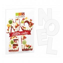Kit Letter Cake Noël  - Scrapcooking