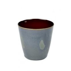 Anita Le Grelle Terres de Rêves Beker Conisch S 7 cm Rust/Smokey Blue - Serax