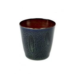 Anita Le Grelle Terres de Rêves Goblet Conic S 7 cm Rust/Dark Blue - Serax