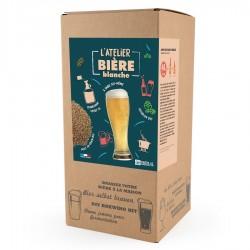 Coffret Brassage avec Malt en Grains Bière Blanche 5 l  - Radis et Capucine