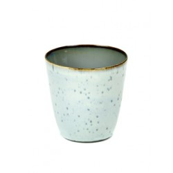 Anita Le Grelle Terres de Rêves Goblet Conic S 7 cm Smokey Blue/Light Blue - Serax