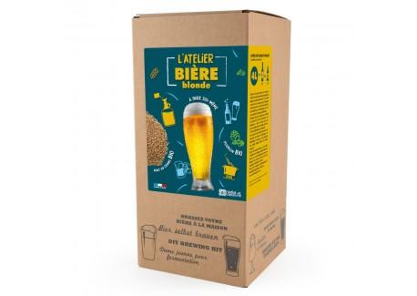 Coffret Brassage avec Malt en Grains Bière Blonde Pils 5 l  - Radis et Capucine