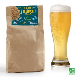 Recharge Malt Bio en Grains pour Coffret Brassage Bière Blonde 5 L