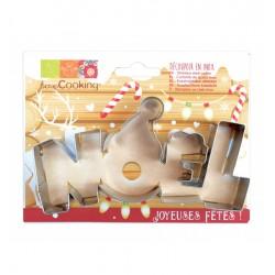"""Cutter RVS Kerst """"Noël"""""""