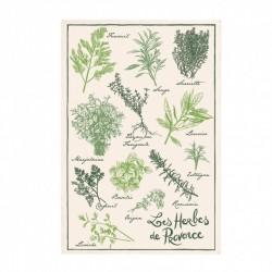 """Torchon """"Les Herbes de Provence""""  - Winkler"""