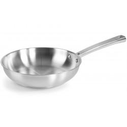 Foodie Poêle à Frire Inox 24 cm  - Lacor