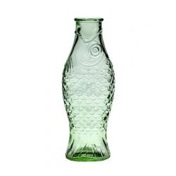 Paola Navone Fish - Fish Bouteille Transparent Vert 1 litre - Serax