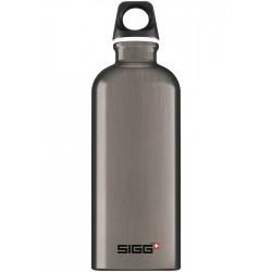 Traveller Aluminium Drinkfles Smoked Pearl 0,6 l - SIGG