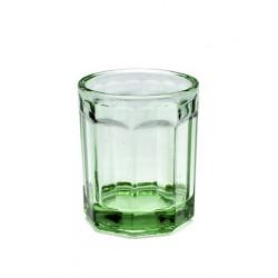 Paola Navone Fish - Fish Glas Medium Transparant Groen 9 cm - Serax