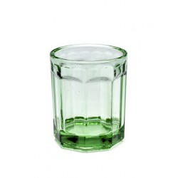 Paola Navone Fish - Fish Verre Medium Transparent Vert 9 cm - Serax