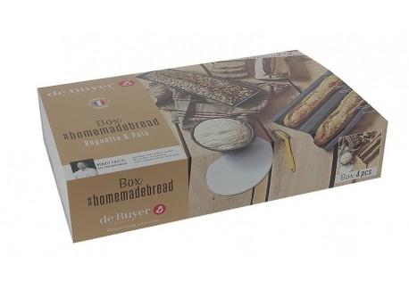Box Homemade Bread Baguette - Pain  - De Buyer