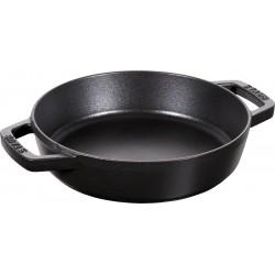 Gietijzeren Paellapan 20 cm Zwart  - Staub