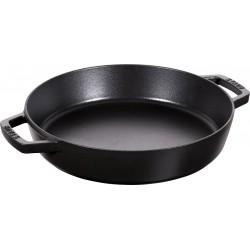 Sauteuse en Fonte 26 cm Noir  - Staub