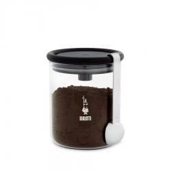 Pot Conservation à Café 250 g avec Cuillère à Doser Inox  - Bialetti