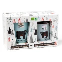 Bear Pack Organische Honing Cacao met Reismok  - Quai Sud