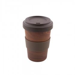 Gobelet en Fibre de Bambou Finition Bois 500 ml  - Point Virgule