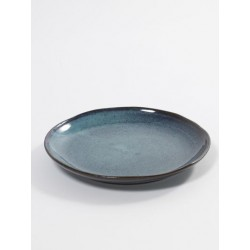 Aqua Assiette à Dessert 22 cm Bleu Tachetere - Serax