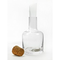 Carafe Haute avec Bouchon + 4 Bec Verseur PVC + Chaîne 50 cm  - Serax