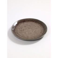 Pascale Naessens Pure Assiette Ronde 20,5 cm Brun  - Serax