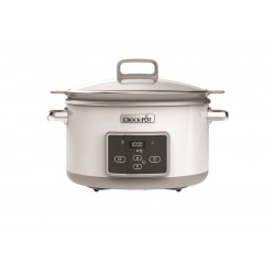 Duraceramic Sauté Slowcooker Wit 4,7 l - CrockPot