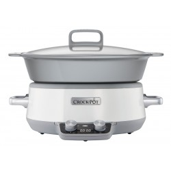 Duraceramic Sauté Slowcooker Wit 6 l - CrockPot