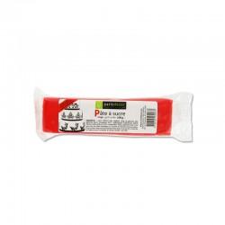 Pâte à Sucre Rouge 100 g  - Cerf Dellier