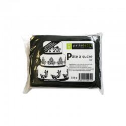 Pâte à Sucre Noir 250 g  - Cerf Dellier
