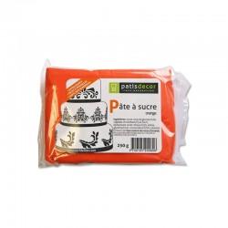 Pâte à Sucre Orange 250 g  - Cerf Dellier