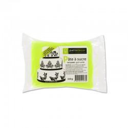 Pâte à Sucre Vert Citron 250 g  - Cerf Dellier