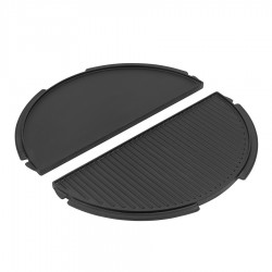 Half Cast Iron Plancha Griddle XLarge - Big Green Egg
