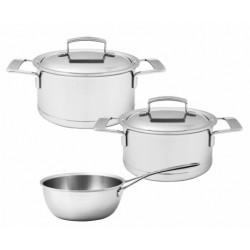 Silver Kookpottenset 3 dlg - Demeyere
