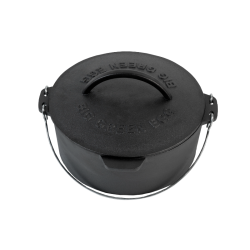 Cast Iron Dutch Oven 27 cm voor Barbecue Medium, Large, XLarge, XXLarge  - Big Green Egg