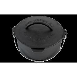 Cocotte en Fonte 27 cm pour Barbecue Medium, Large, XLarge, XXLarge  - Big Green Egg