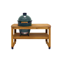 Acacia Wood Table Large 150 x 60 x 80 cm  - Big Green Egg