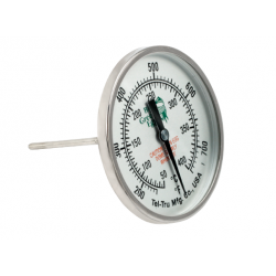 Tel-Tru Temperature Gauge 8 cm  - Big Green Egg