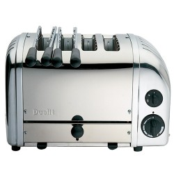 Vario Toaster Grille Pain Inox 4 tranches - Dualit